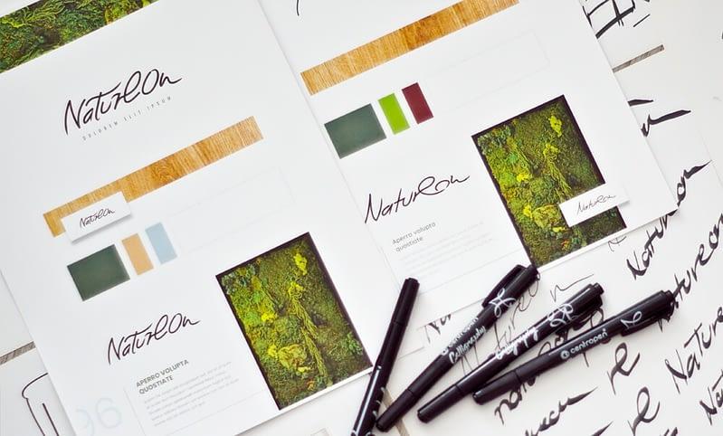 Natureon Corporate identity
