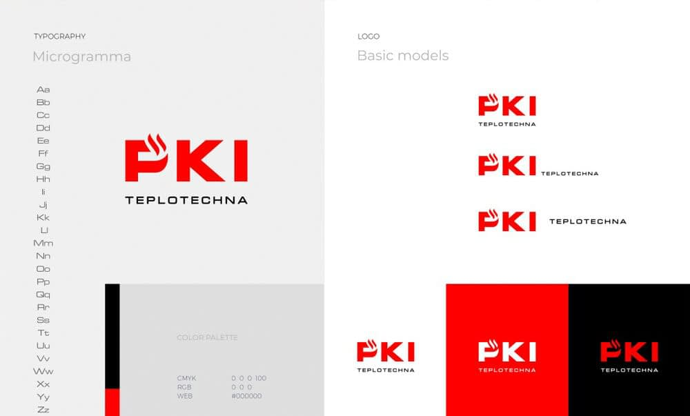 PKI Corporate identity and logo